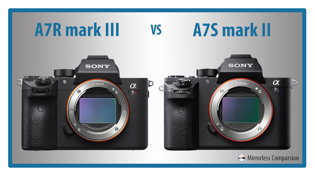 The 10 Main Differences Between the Sony A7rIII and A7sII