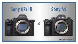 sony a7riii vs a9