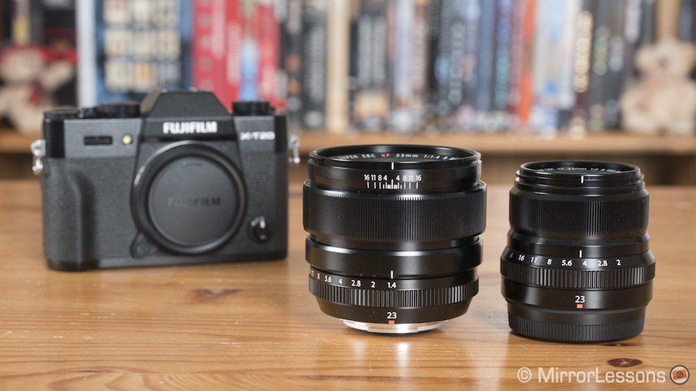Fujifilm XF 23mm f/1 4 vs XF 23mm f/2 R WR – The complete