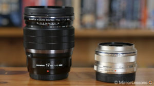 Olympus M.Zuiko 17mm f/1.2 PRO vs M.Zuiko 17mm f/1.8 – The complete comparison
