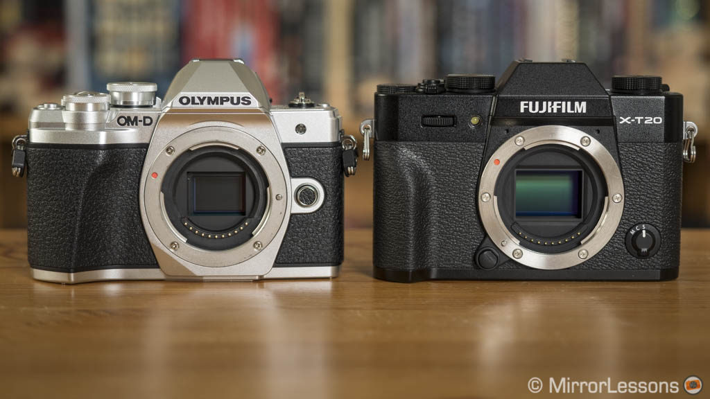 Olympus OM-D E-M10 III vs Fujifilm X-T20 – The Complete