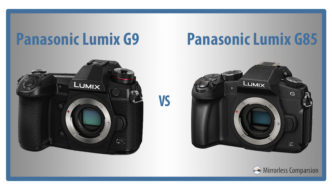 panasonic g9 vs g85
