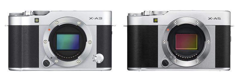 fuji xa3 vs xa5 sensor