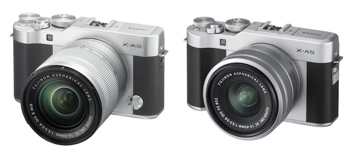 fuji xa5 vs xa3 lens