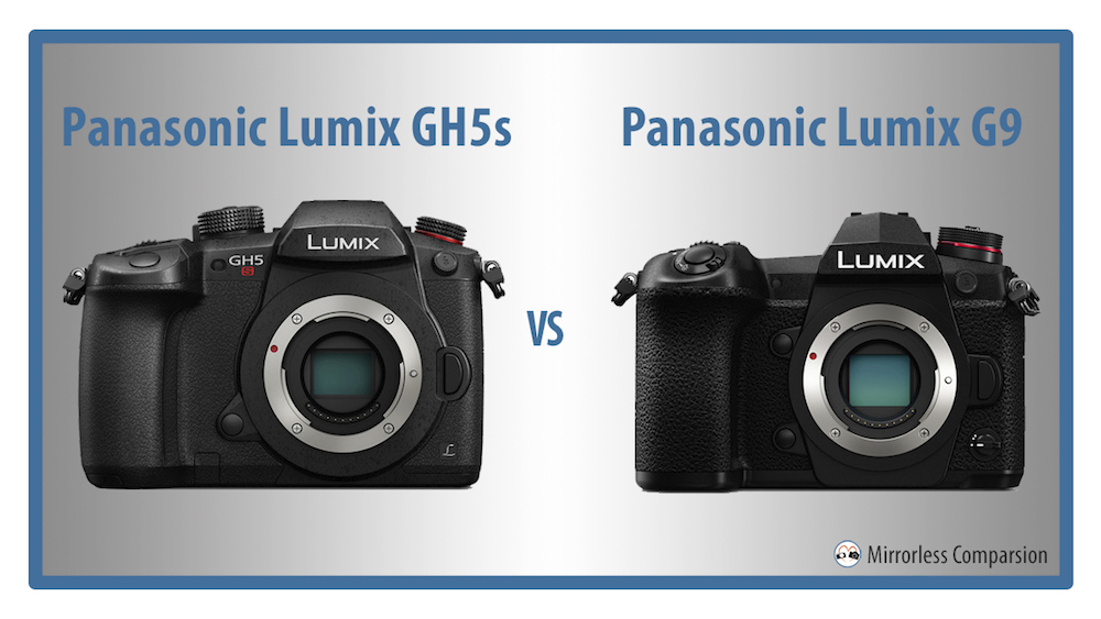 panasonic gh5 vs g9