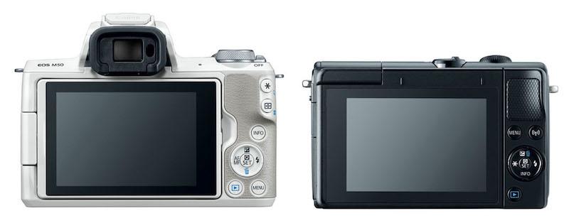 Canon-EOS-M5-vs-M50-back