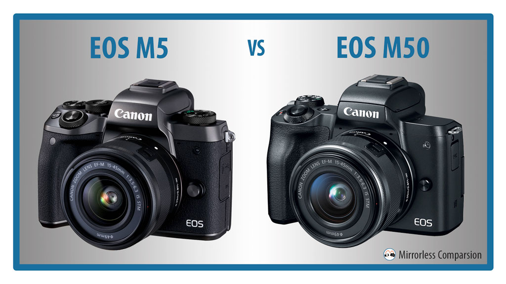 Canon EOS M5 vs M50 – The 10 Main Differences