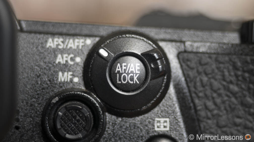 The AFS / AFC / MF switch