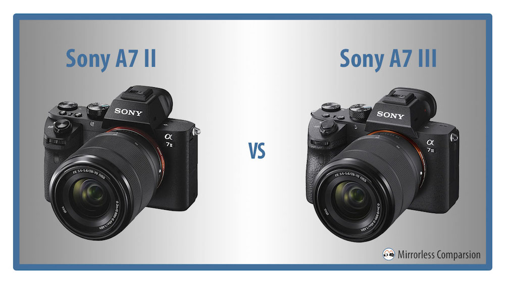 sony a7 ii vs a7 iii the 10 main differences. Black Bedroom Furniture Sets. Home Design Ideas