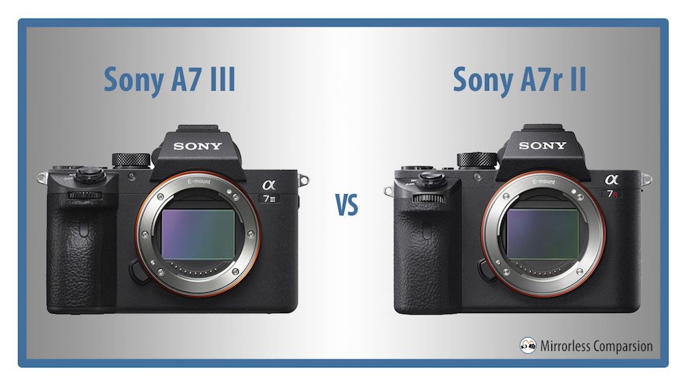 sony a7iii vs a7rii featured image