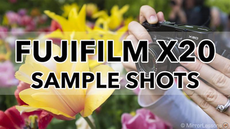 fujifilm x20 sample photos