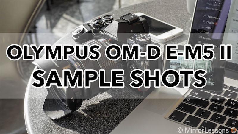 olympus em5 ii sample shots
