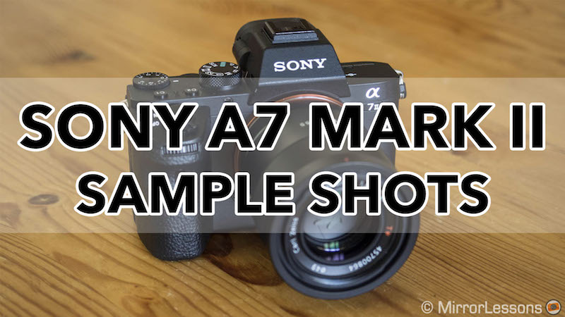 sony a7ii sample images and photos