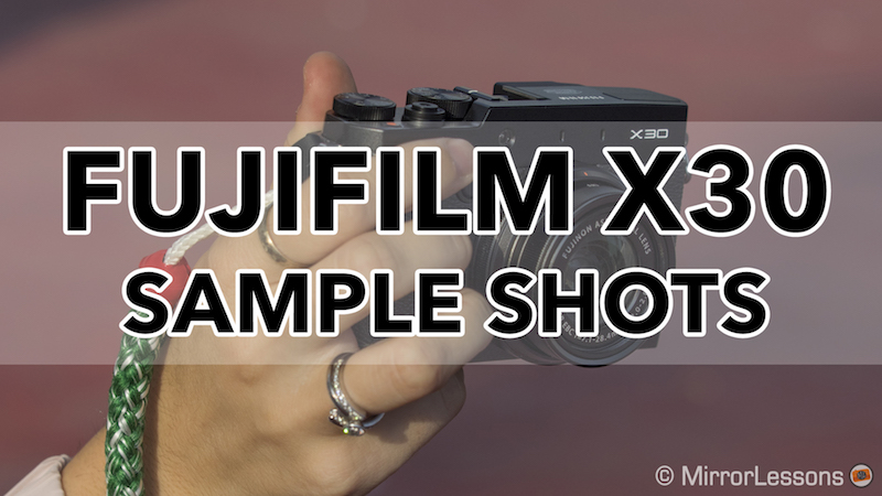 fuji x30 sample images