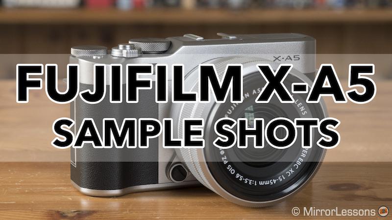 fujifilm xa5 sample shots