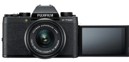 fuji xt100 three way articulating monitor