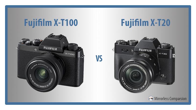 fujifilm xt100 vs xt20