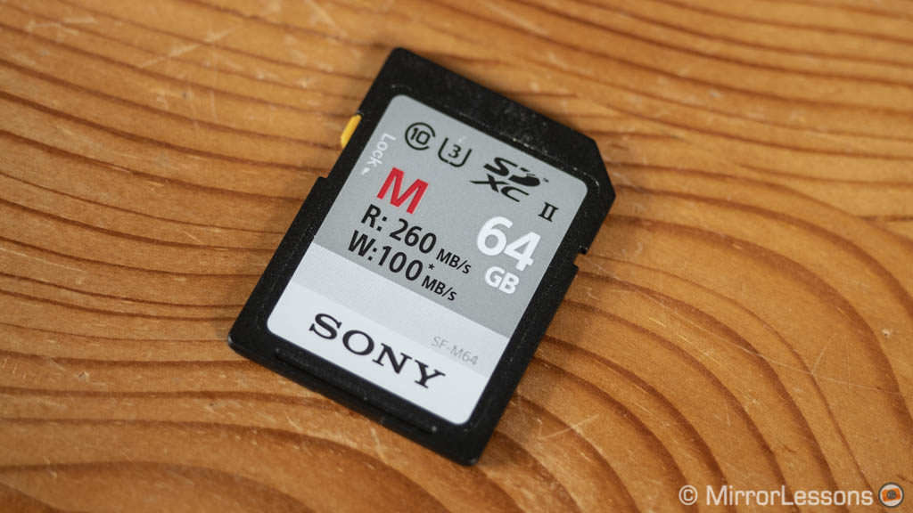 best sd card for sony a7 iii