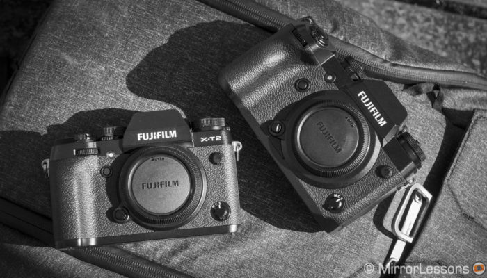 Fujifilm X-H1 vs X-T2 – The complete comparison