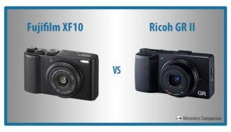 Fujifilm XF10 vs Ricoh GR II – The 10 Main Differences