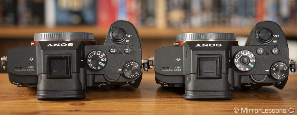 sony a7iii and a7riii comparison