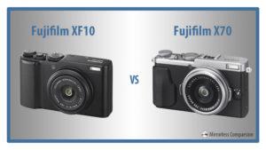 Fujifilm XF10 vs X70 – The 10 Main Differences