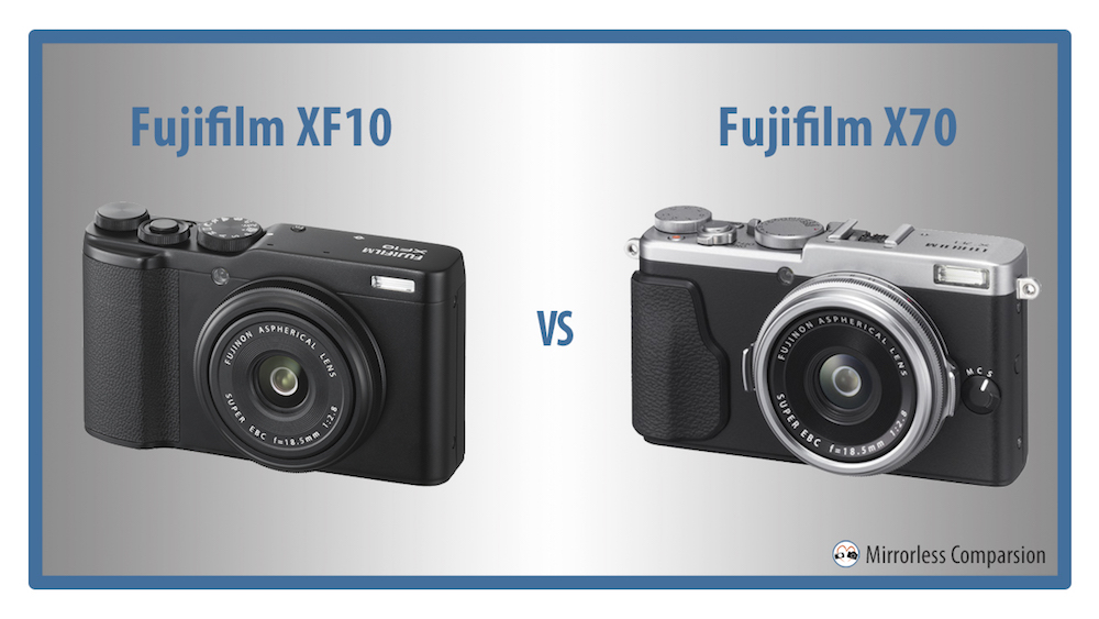 fuji xf10 vs x70