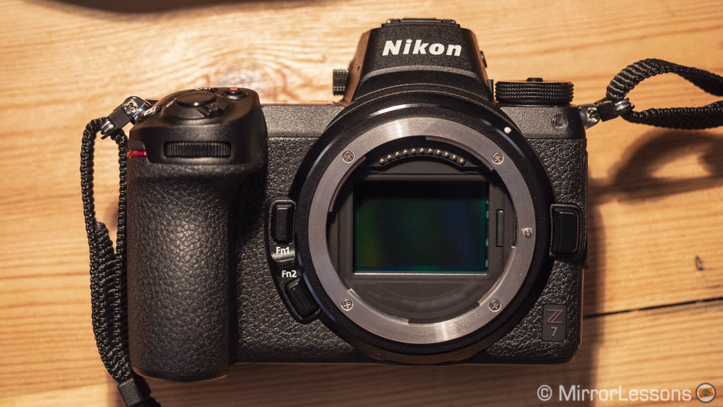 nikon z6 vs z7 high iso