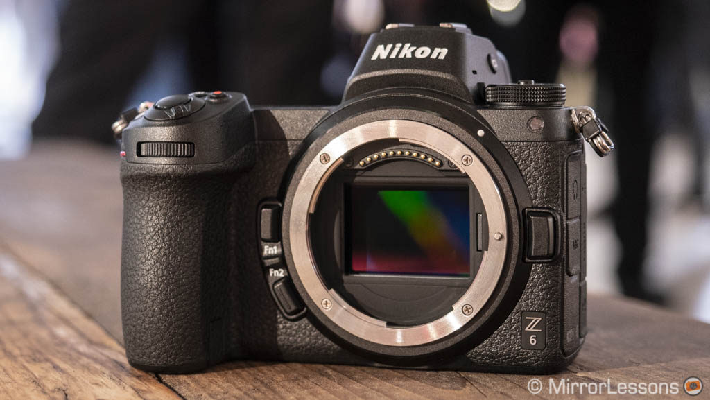 nikon z6 without sensor cap