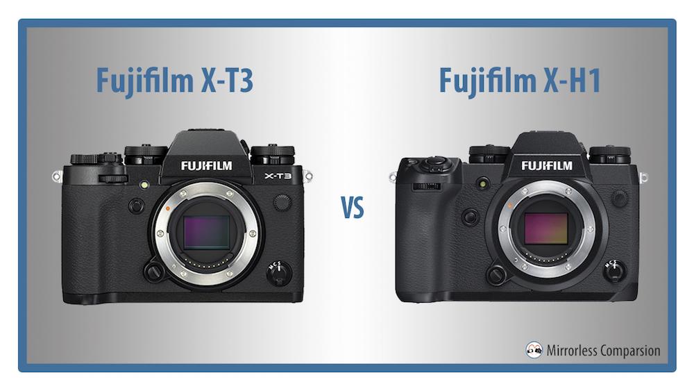 Fujifilm X T3 Vs X H1 The 10 Main Differences