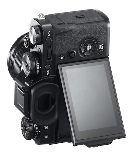 The flip out monitor of the X-T3
