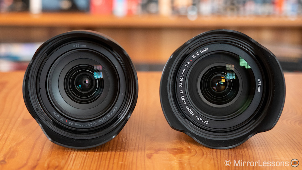 canon rf 24-105mm vs ef 24-105mm