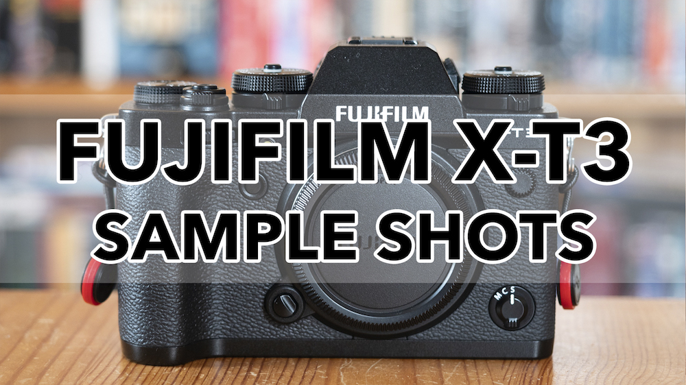 Gallery of Fujifilm X-T3 Sample Images (RAW & SOOC JPGs)