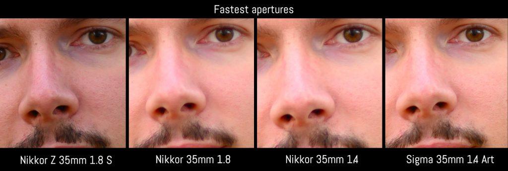 0.0 fastest apertures mathieu