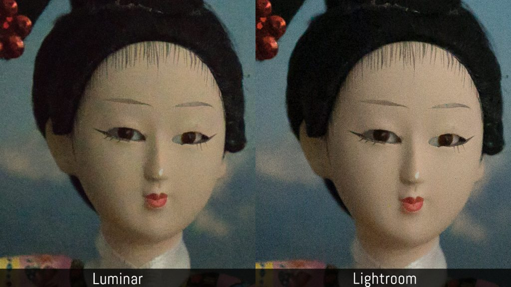luminar library vs lightroom