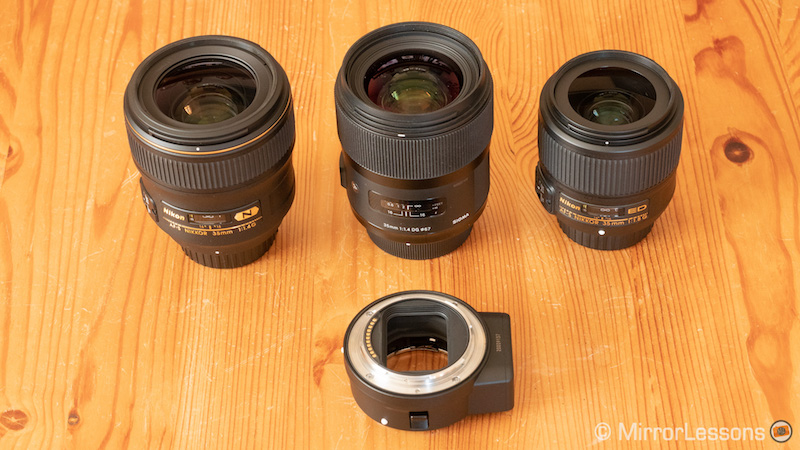 nikon ftz adapter dslr lenses