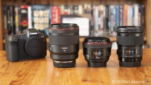 canon rf 50mm 1.2 vs ef 50mm 1.2 vs sigma 50mm art