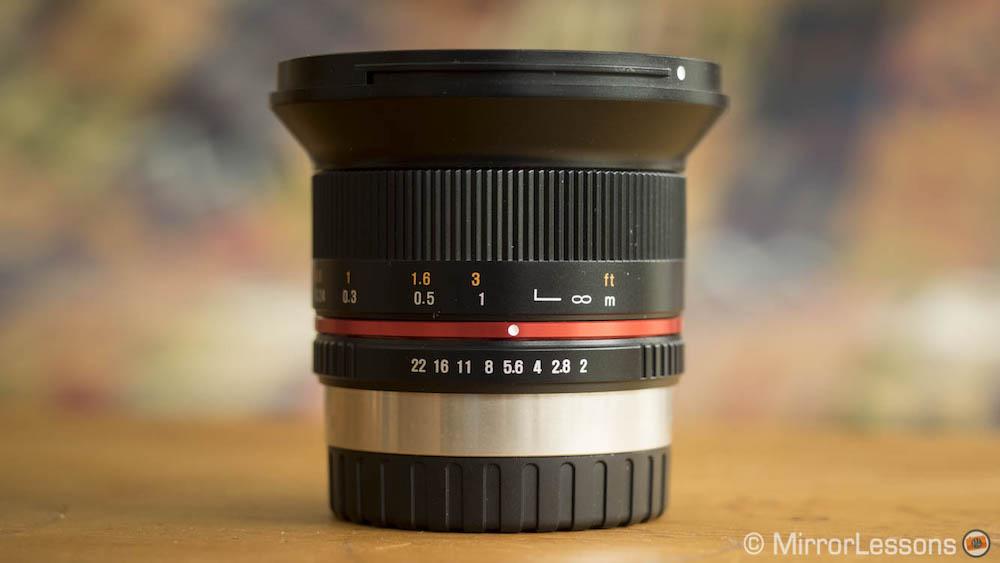 Samyang Rokinon 12mm f/2