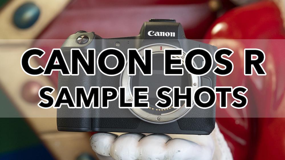 canon eos r sample shots