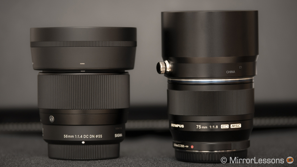 sigma 56mm vs olympus 75mm product shots-1