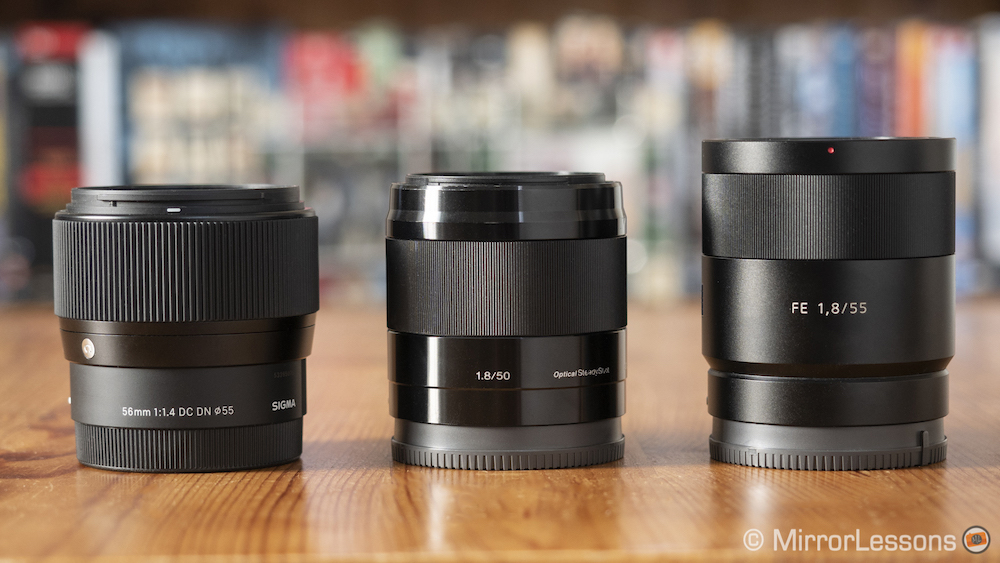 sigma 56mm vs sony 50mm vs sony 55mm-1