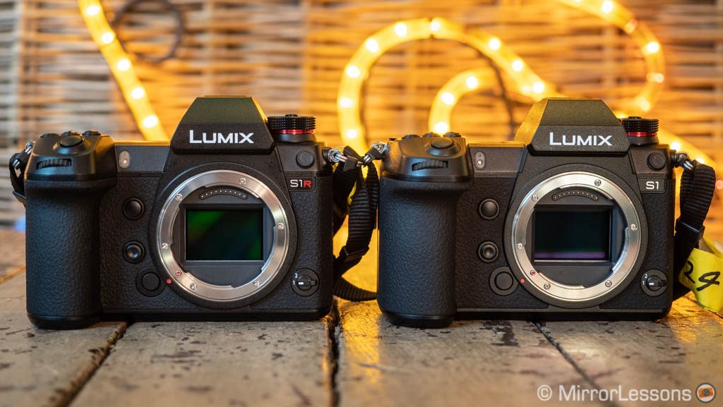 panasonic s1 vs s1r