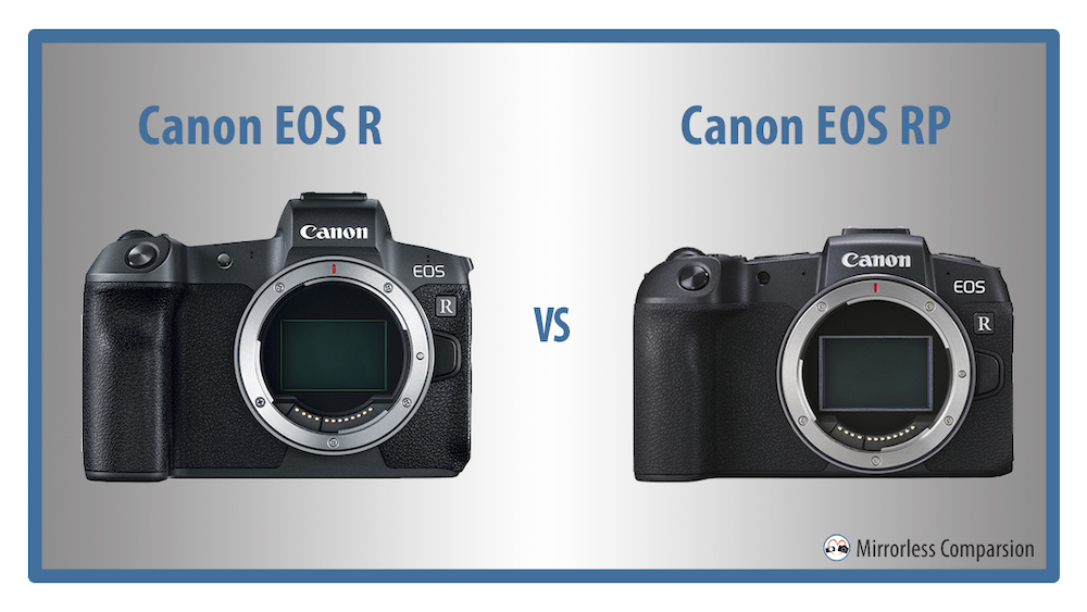 Canon Mirrorless Full Frame >> Canon EOS R vs RP – The 10 Main Differences