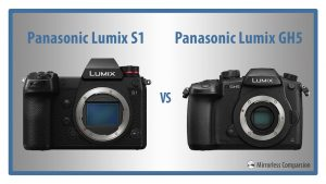 panasonic s1 vs gh5