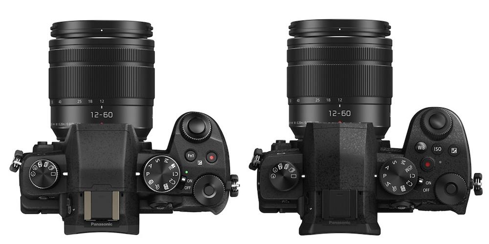 lumix g85 vs g95 top