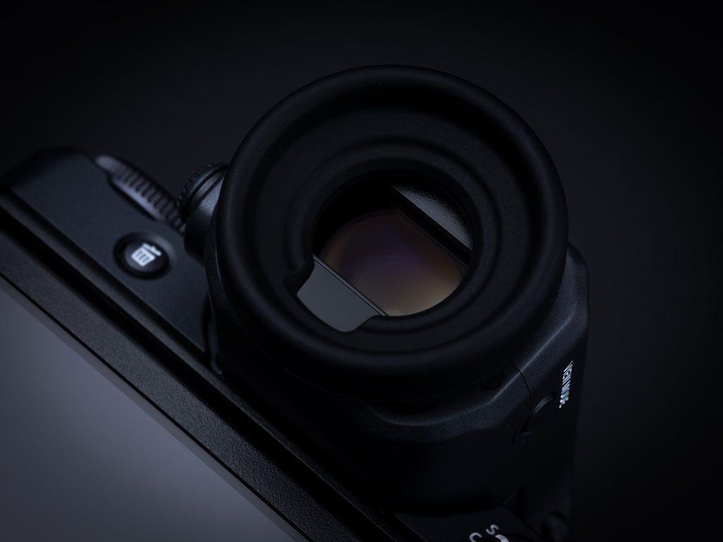 GFX100 viewfinder