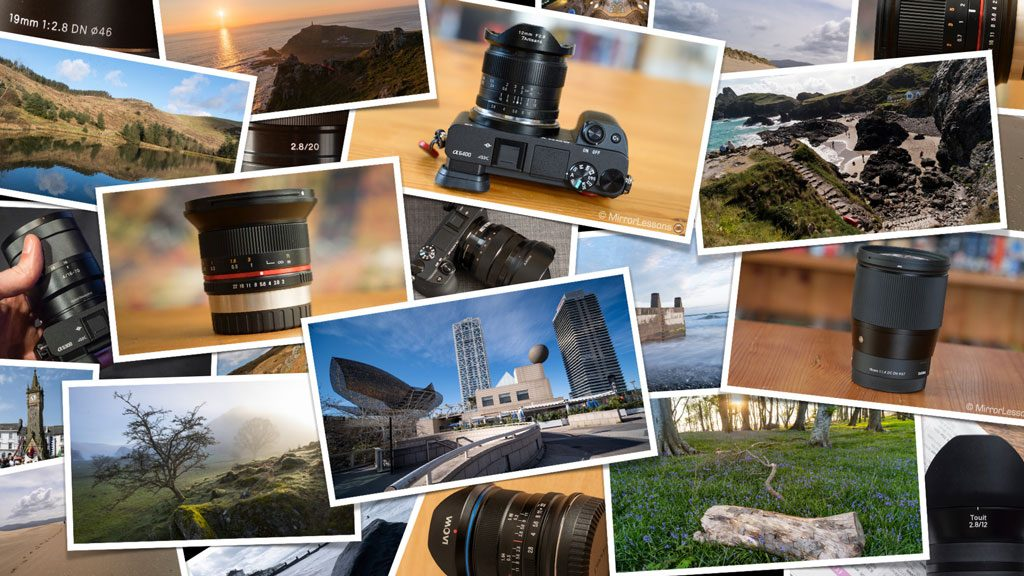 best wide angle lenses for sony