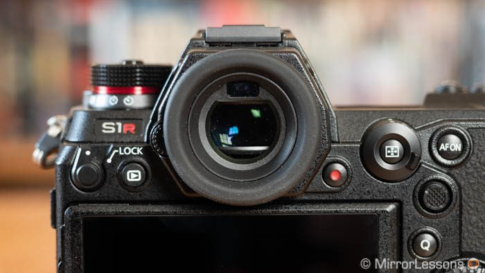 lumix s1r viewfinder