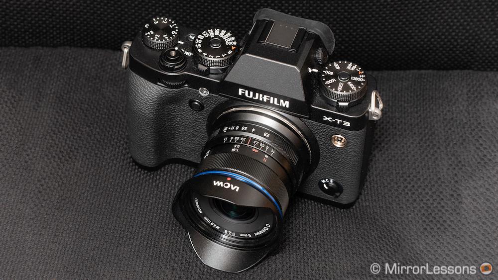 laowa 9mm 2.8 zero-d for fuji