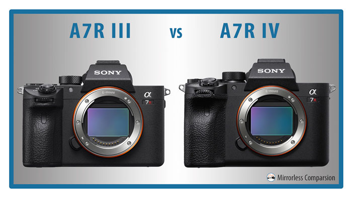 Sony A7R III vs A7R IV – The 10 main differences